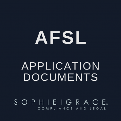 AFSL Application Documents