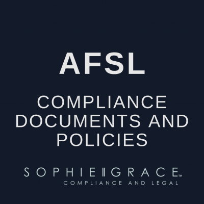 AFSL Compliance Documents and Policies