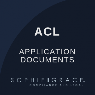 ACL Application Documents