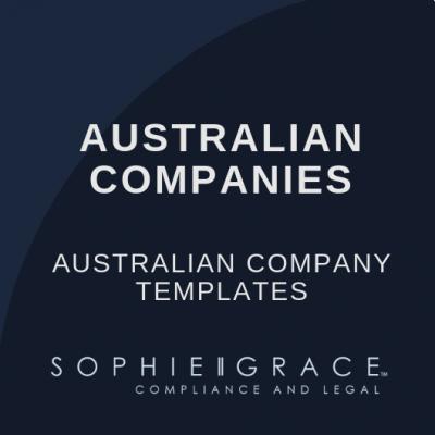 Australian Company Templates