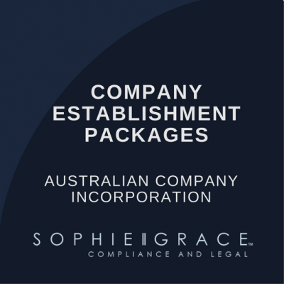 Australian Company Establishment Packages