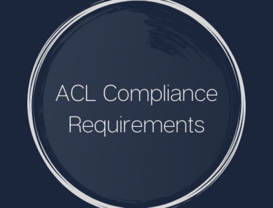 ACL Compliance Requirements