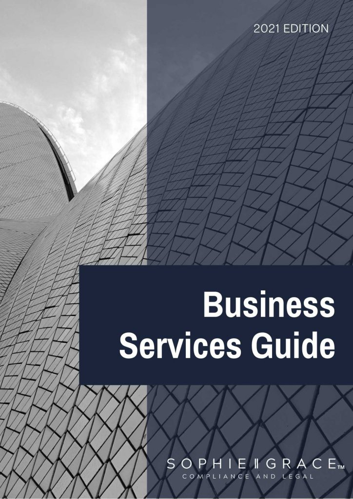 Sophie Grace Business Services Guide