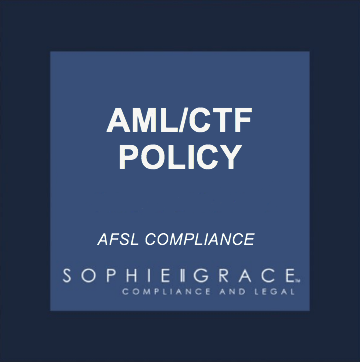 afsl amlctf policy template generic including amlctf matrix