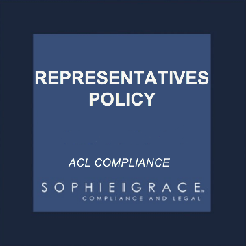 acl representatives policy template
