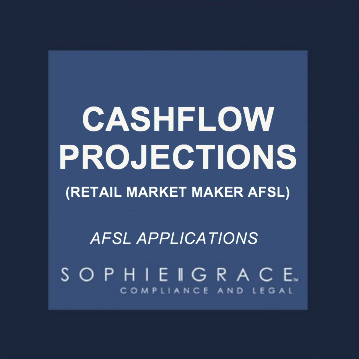 afsl cashflow projections and assumptions template retail market