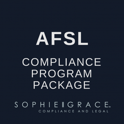 AFSL Compliance Program Package