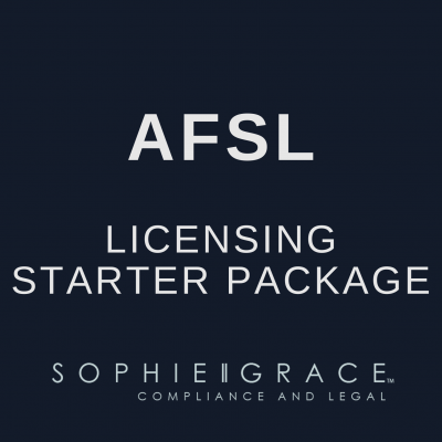 AFSL Application Starter Packages