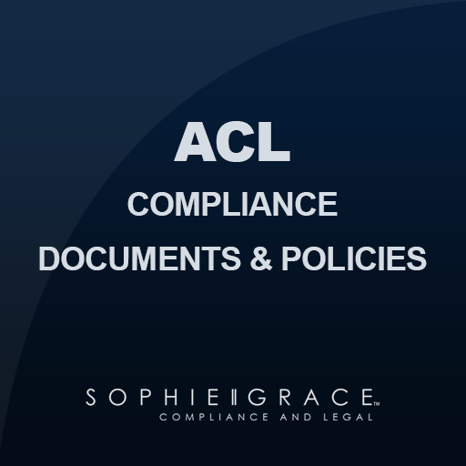 ACL Compliance Documents and Policies